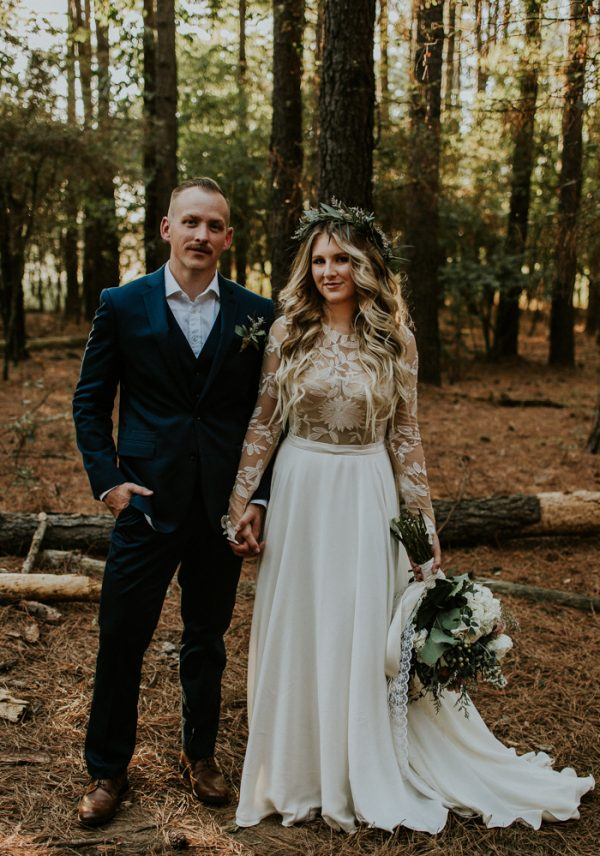 Rustic bohemian ranch wedding in oklahoma junebug weddings junglespirit