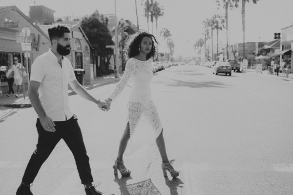 This Low-Key Couple Picked Their Venice Beach Ceremony ...