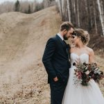 Get Your Moody Color Palette Inspiration from This Late Fall Wedding Shoot