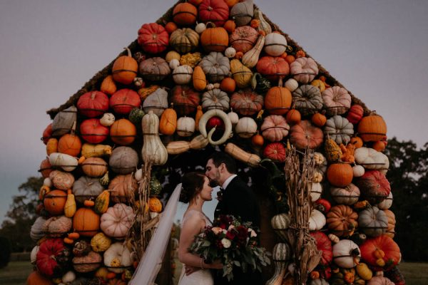 Pumpkin-Filled Fall Wedding at Moss Mountain Farm