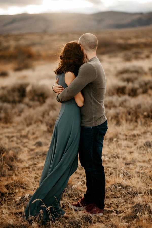 You Ll Never Guess Where These Desert Engagement Photos