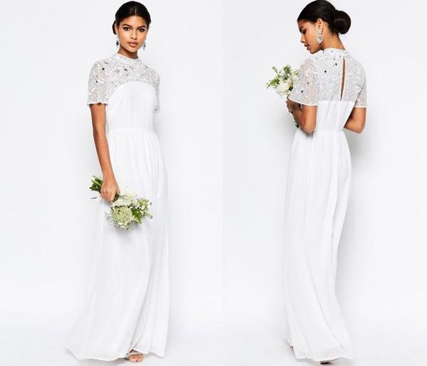 asos-high-neck-embellished-dress