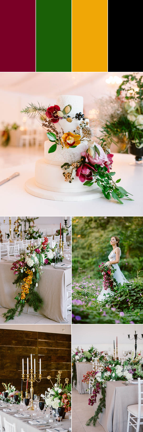 5 Burgundy Color Palette Ideas To Make You Rethink Your Wedding