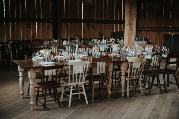 Intimate outdoor wedding at South Pond Farm by Daring Wanderer // www.daringwanderer.com