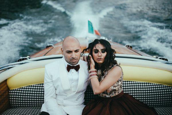 Stunning Sikh Wedding at Villa Pizzo in Lake Como