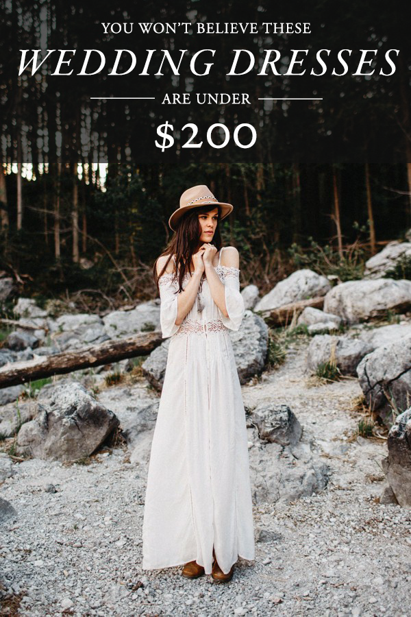Youll be surprised how much you love these wedding dresses under wedding dresses under 200 junglespirit Choice Image