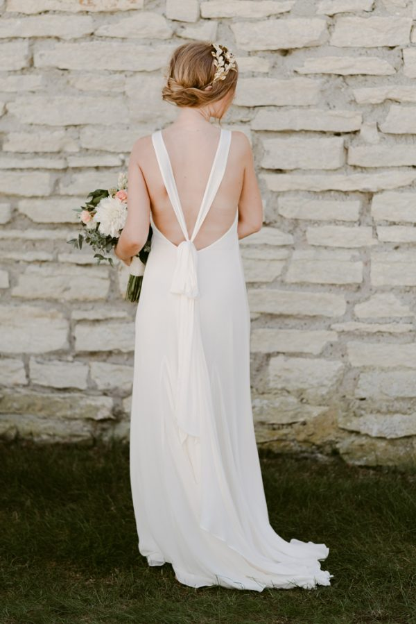 When the Bride Designs for Reformation, You Know the Wedding Dress ...