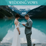 6 Unique Tips for Writing Your Wedding Vows