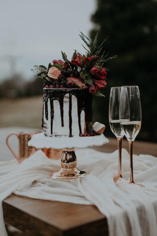 Charming Christmas Tree Farm Wedding Inspiration Junebug