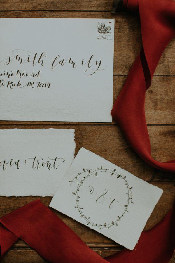 Charming Christmas Tree Farm Wedding Inspiration | Junebug
