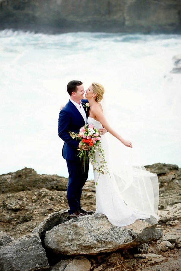 unique beach wedding locations - Lembongan Island