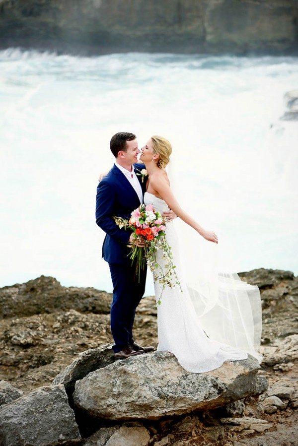unique beach wedding locations - Lembongan Island