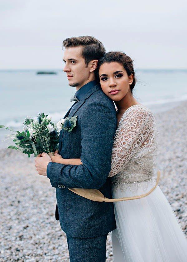 unique beach wedding locations - Étretat, France
