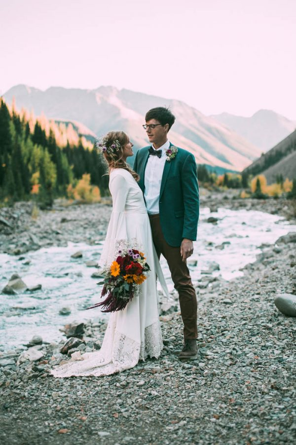 Intimate southwest colorado wedding in the mountains junebug intimate southwest colorado wedding in the mountains junebug weddings junglespirit Image collections