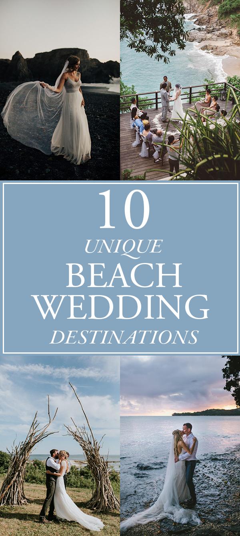 Unique Beach Wedding Ideas