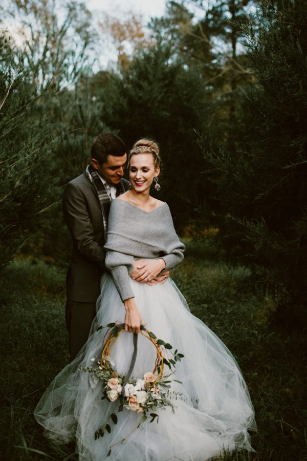 Fashionably Cozy Winter Wedding Inspiration Junebug Weddings