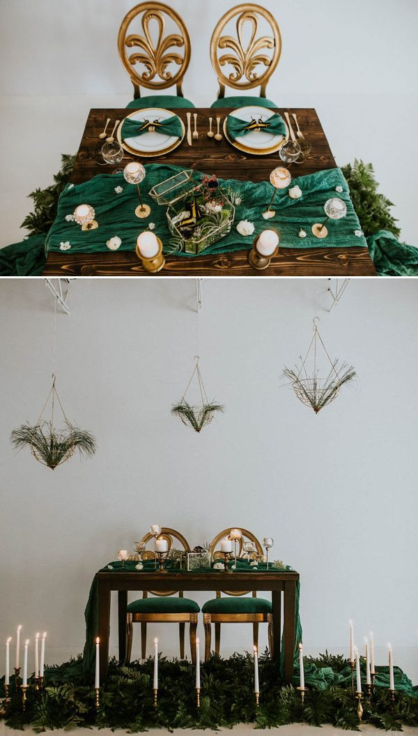 green-and-gold-sweetheart-table-inspiration