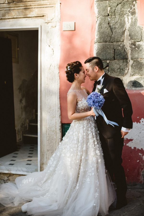 This Breathtaking Cinque Terre Wedding Has The Most Stunning Bespoke Gown Junebug Weddings