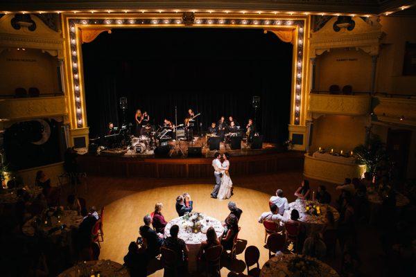 Timeless Michigan Wedding At The City Opera House