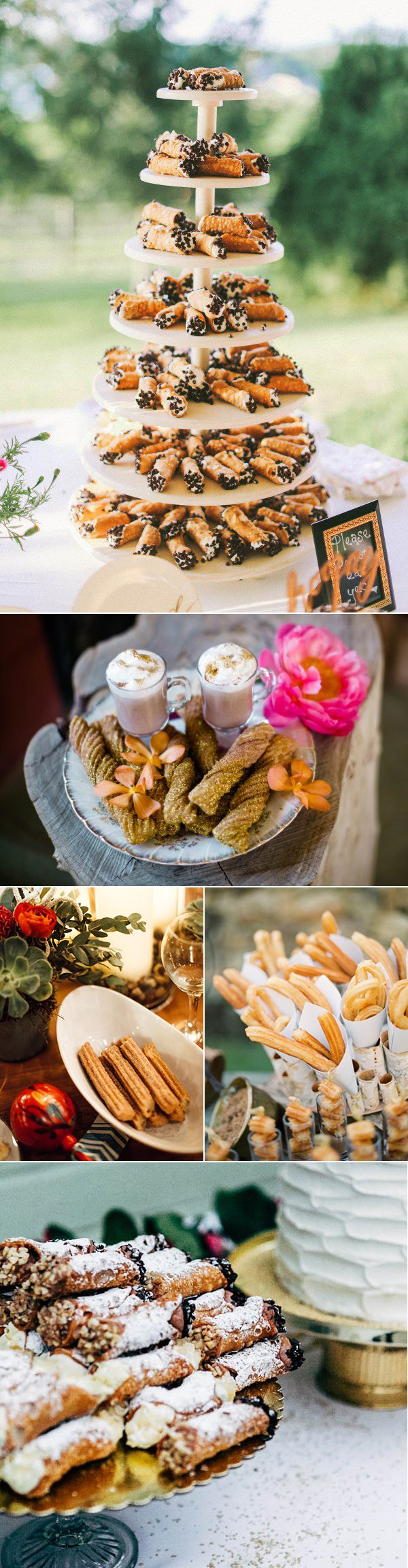 wedding-cannoli-eclair-churro-dessert-displays