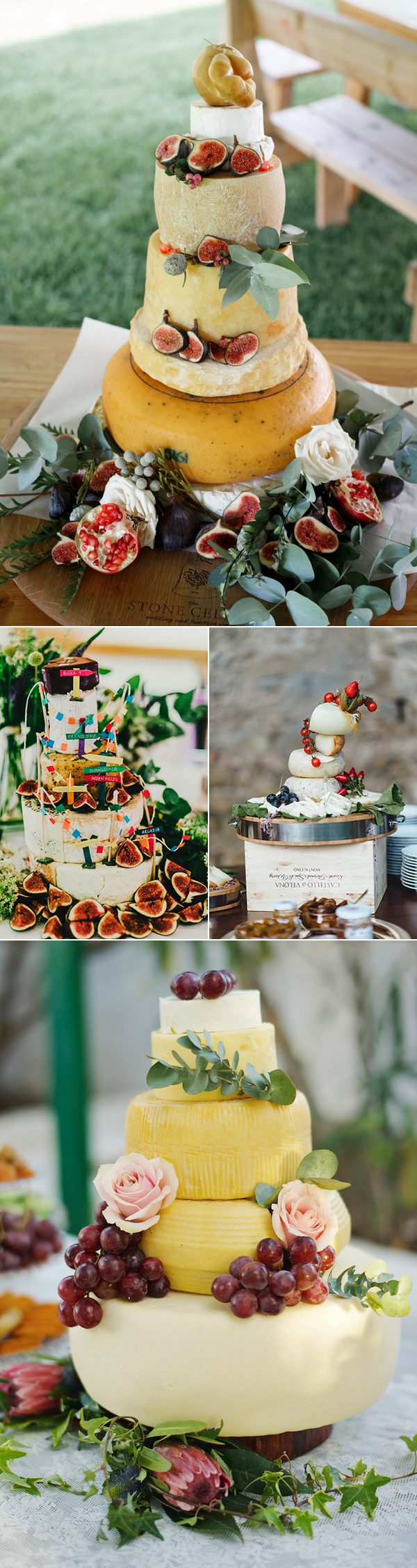 wedding-cheese-cake-displays