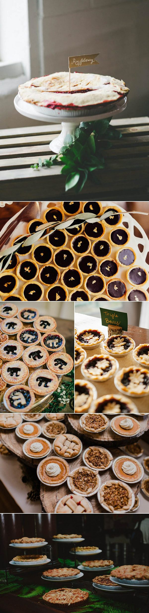 wedding-pie-displays