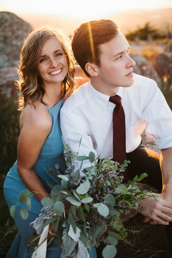 Your Jaw Will Drop at This Wichita Mountain Range Anniversary Session