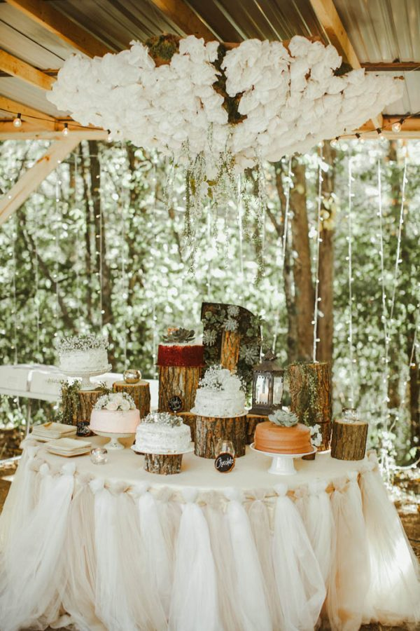 Absolutely Enchanting Southern DIY Wedding at Aurora Acres Stephanie Sorenson Photography-20