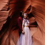 Alternative Antelope Canyon Elopement