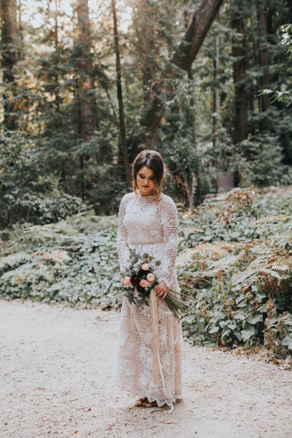 Breathtaking Handmade Elopement at Glen Oaks Big Sur Jen Workman-57