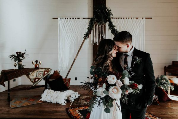 Eclectic Romantic Wedding Inspiration at The Chapel at Southwind Hills Peyton Rainey Photography and Chelsea Denise Photography-11