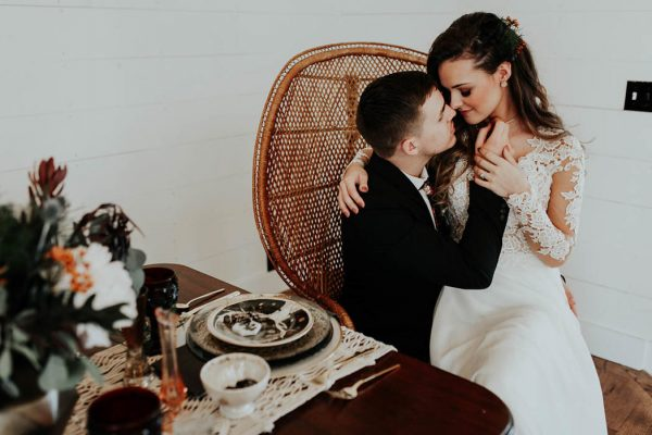 Eclectic Romantic Wedding Inspiration at The Chapel at Southwind Hills Peyton Rainey Photography and Chelsea Denise Photography-14