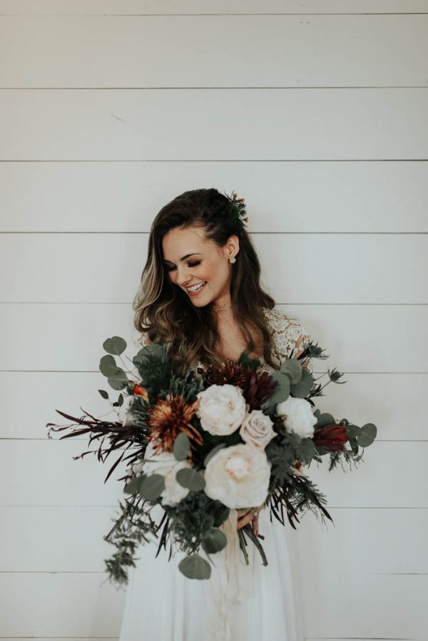 Eclectic Romantic Wedding Inspiration at The Chapel at Southwind Hills Peyton Rainey Photography and Chelsea Denise Photography-57