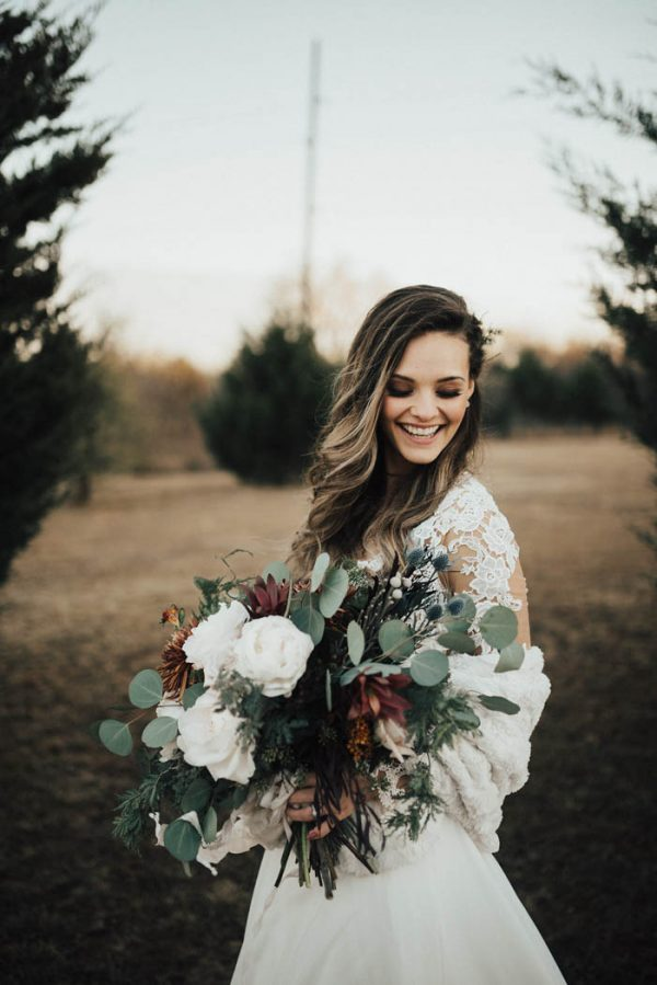 Eclectic Romantic Wedding Inspiration at The Chapel at Southwind Hills Peyton Rainey Photography and Chelsea Denise Photography-62
