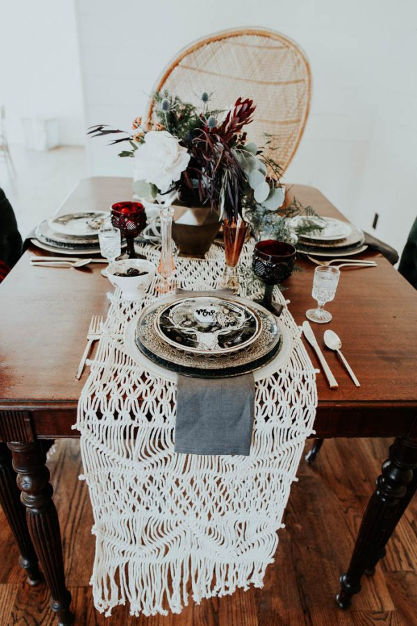 Eclectic Romantic Wedding Inspiration at The Chapel at Southwind Hills Peyton Rainey Photography and Chelsea Denise Photography-64