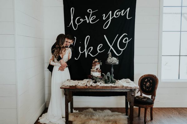 Eclectic Romantic Wedding Inspiration at The Chapel at Southwind Hills Peyton Rainey Photography and Chelsea Denise Photography-68