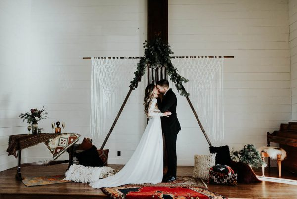 Eclectic Romantic Wedding Inspiration at The Chapel at Southwind Hills Peyton Rainey Photography and Chelsea Denise Photography-70