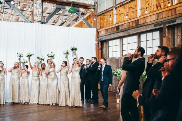Fabulous Downtown Seattle Wedding at Sodo Park Junebug Weddings