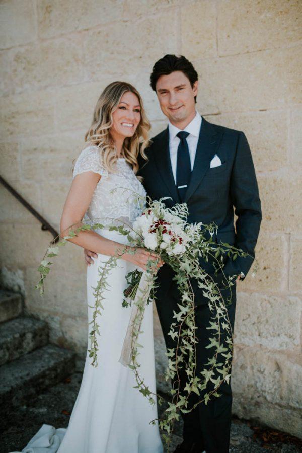 Gorgeous Bordeaux Winery Wedding at Chateau Franc Mayne Junebug
