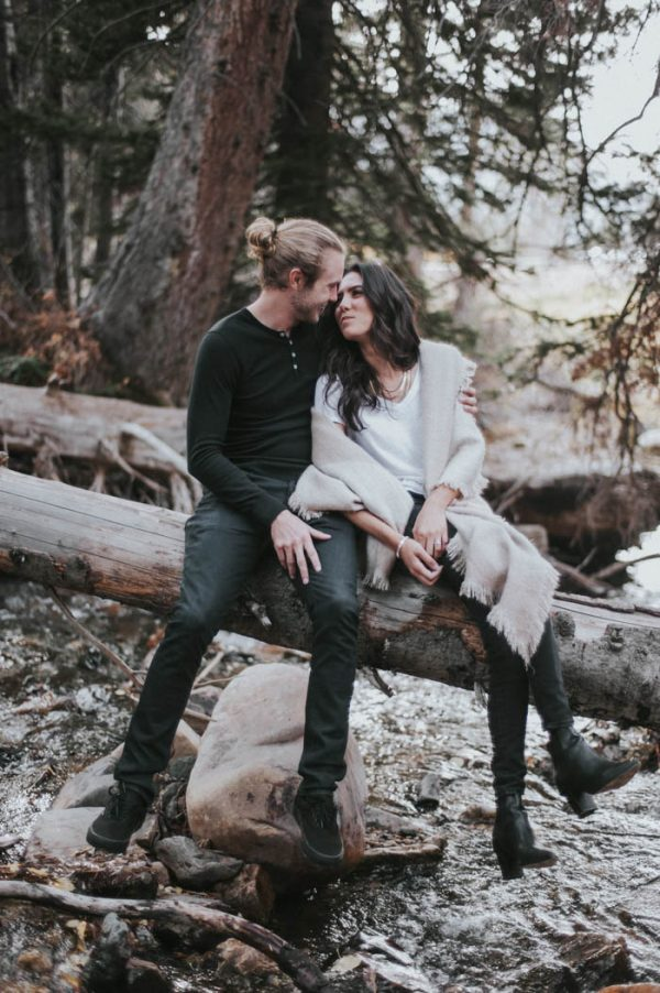 This Salt Lake City Engagement is Like a Folksy Forest Fairy Tale Blush Photography-10