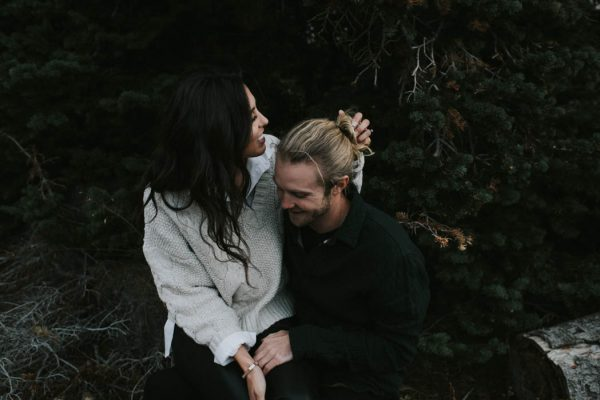 This Salt Lake City Engagement is Like a Folksy Forest Fairy Tale Blush Photography-11