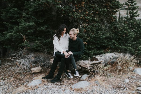 This Salt Lake City Engagement is Like a Folksy Forest Fairy Tale Blush Photography-12