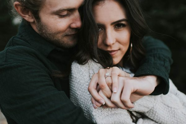 This Salt Lake City Engagement is Like a Folksy Forest Fairy Tale Blush Photography-13
