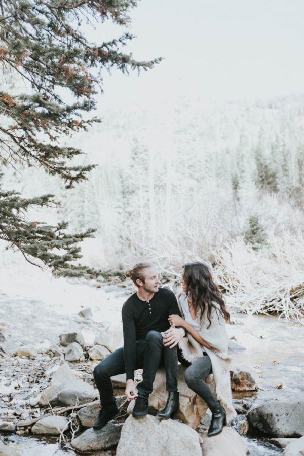 This Salt Lake City Engagement is Like a Folksy Forest Fairy Tale Blush Photography-14