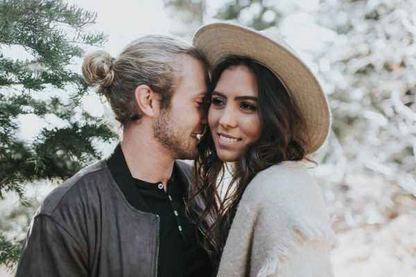 This Salt Lake City Engagement is Like a Folksy Forest Fairy Tale Blush Photography-16