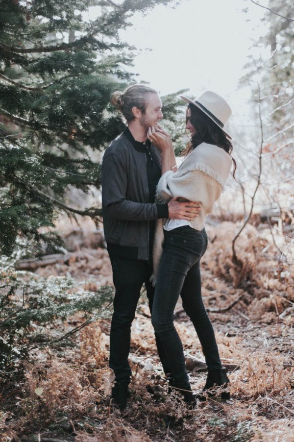 This Salt Lake City Engagement is Like a Folksy Forest Fairy Tale Blush Photography-17