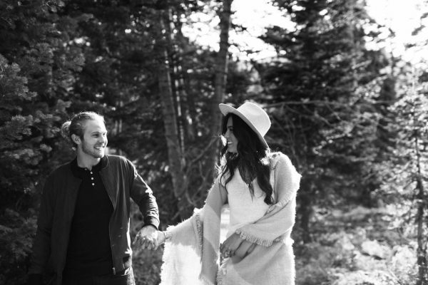 This Salt Lake City Engagement is Like a Folksy Forest Fairy Tale Blush Photography-18