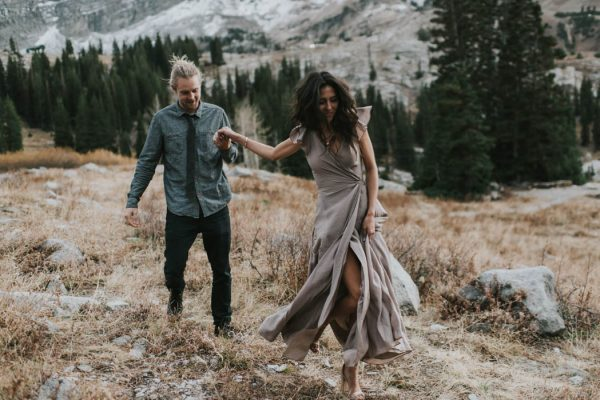 This Salt Lake City Engagement is Like a Folksy Forest Fairy Tale Blush Photography-2