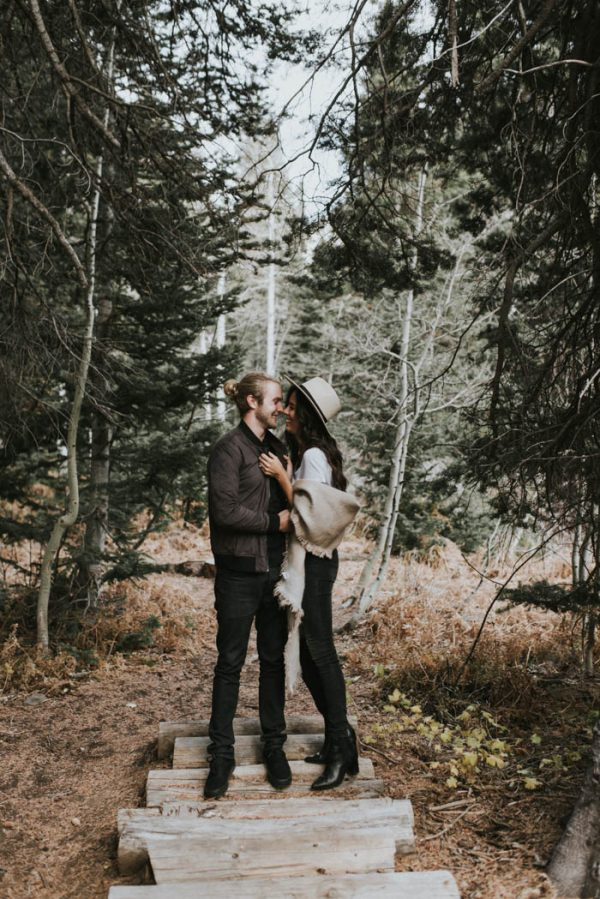 This Salt Lake City Engagement is Like a Folksy Forest Fairy Tale Blush Photography-24