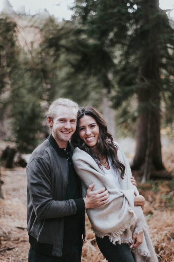 This Salt Lake City Engagement is Like a Folksy Forest Fairy Tale Blush Photography-25